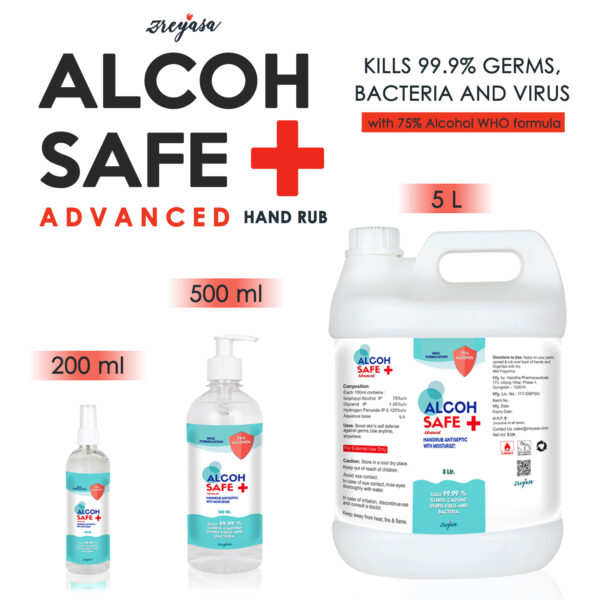 AlcohSafe Advanced WHO Formula